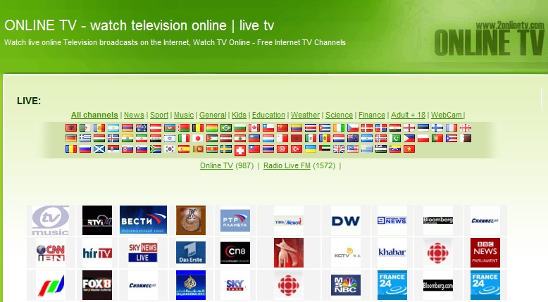 Watch Live Indian TV Channels