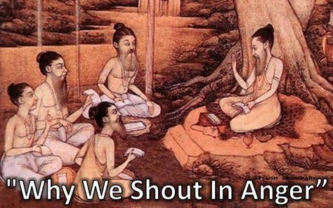 """Why We Shout In Anger"""